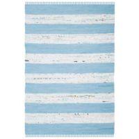 Safavieh Montauk 4' x 6' Pippa Rug in Turquoise
