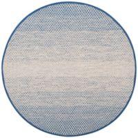 Safavieh Montauk 6' x 6' Phoenix Rug in Blue