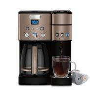 Cuisinart® Coffee Center™ Coffee Maker and Single Serve Brewer in Umber