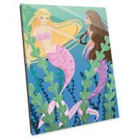 Astra Art Mermaids 11-Inch x 14-Inch Acrylic Wall Art