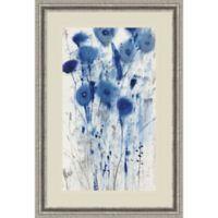 Amanti Art Blue Impressions II 25-Inch x 37-Inch Framed Wall Art
