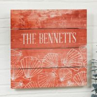 Coastal Home Small Wooden Slat Sign