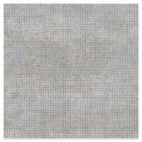 Warner Textures Grey Grid Wallpaper