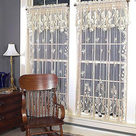 Heritage Lace Windsor Rod Pocket Window Curtain Panels