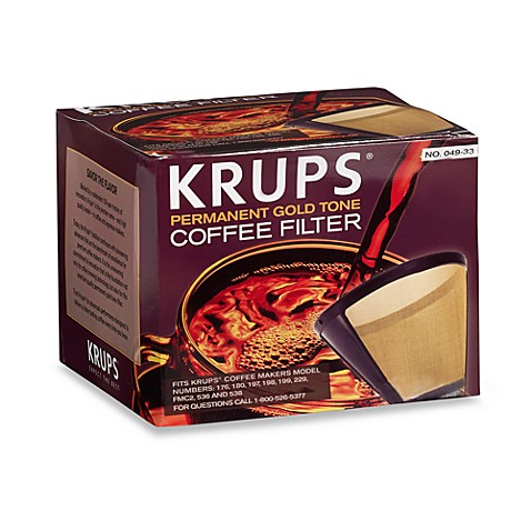 Krups® Gold Tone Coffee Filter
