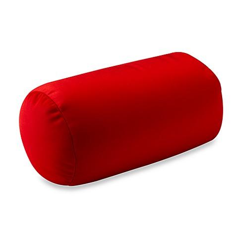 Homedics® Sqush™ Tube™ Pillow - Red - Bed Bath & Beyond