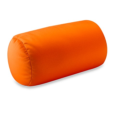 homedics sqush tube pillow orange bed bath beyond. Black Bedroom Furniture Sets. Home Design Ideas