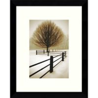 Amanti Art Solitude 9-Inch x 11-Inch Framed Wall Art