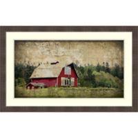 Amanti Art Widby's Barn III 38-Inch x 24-Inch Framed Wall Art