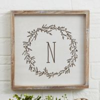 Farmhouse Floral 12-Inch Square Barnwood Framed Wall Art