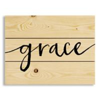 "Designs Direct ""Grace"" 14-Inch x 10.5-Inch Pallet Wood Wall Art"
