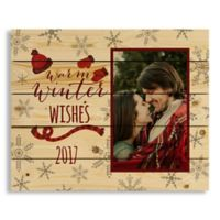 """Direct Designs """"Warm Winter Wishes"""" 22-Inch x 18-Inch Pallet Wood Wall Art"""