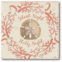 Silent Night 16-Inch Square Canvas Wall Art