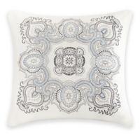 Echo™ Larissa Embroidered Square Throw Pillow in White