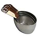 Oneida® 4-Piece Measuring Cup Set with Copper Plated Handles