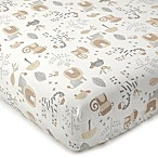 Levtex® Baby Kenya Safari Print Fitted Crib Sheet