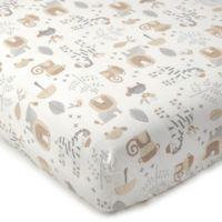 Levtex® Baby Kenya Safari Print Fitted Crib Sheet
