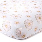 Levtex Baby Dandelion Medallion Fitted Crib Sheet
