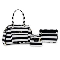 Ju-Ju-Be® Be Pumped in the First Lady Pump Bag in Black/White
