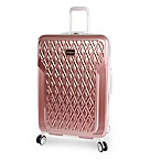 BEBE Stella 29-Inch Hardside Spinner On in Rose Gold