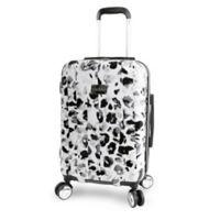 Bebe Abigail Hardside 21-Inch Spinner Carry On in Leopard