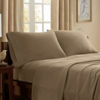 Peak Performance Knitted Fleece Full Sheet Set in Mink