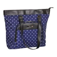 Kenneth Cole Reaction 15.6-Inch Computer Shopper's Tote in Navy Dot