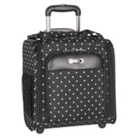 Kenneth Cole Reaction 14-Inch Lightweight Upright Underseat Luggage in Black Dot