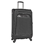 Kenneth Cole Reaction 28-Inch 4-Wheel Expandable Checked Luggage in Black Dot
