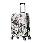 InUSA Stamps 24-Inch Spinner Suitcase