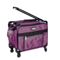 Tutto 17-Inch Rolling Small Carry On in Burgundy