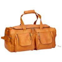 Clava® Vachetta Leather XL Duffle Bag in Tan