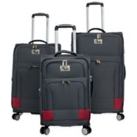 Chariot Naples 3-Piece Expandable Luggage Set in Navy