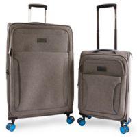 Original Penguin® Platt 2-Piece Luggage Set in Gret/Blue