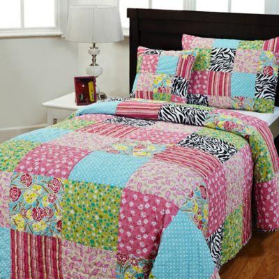 bedspread king bedding full comforter pastel queen floral shams patchwork large chenille fringe size products