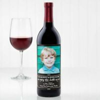 The Reason You Drink Wine Bottle Label