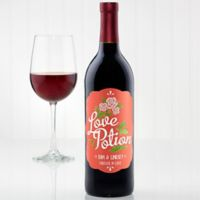Love Potion Wine Bottle Label