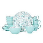 Pfaltzgraff® Venice 16-Piece Dinnerware Set in Teal