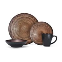 Pfaltzgraff® Cambria 16-Piece Dinnerware Set in Brown