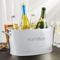 Stainless Steel Double-Wall Cocktail Party Tub