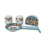 Euro Ceramica Mumbai 4-Piece Accessory Set