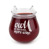 BigMouth Inc. Owl Stemless Wine Glass