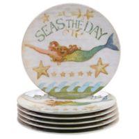 Certified International Sea Beauty by Susan Winget Melamine Dinner Plates (Set of 6)
