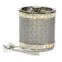 Julia Knight® Classic 3-Piece Jumbo Double-Walled Ice Bucket Set in Platinum