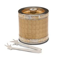 Julia Knight® Classic 3-Piece Jumbo Double-Walled Ice Bucket Set in Toffee