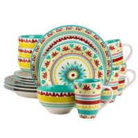 Euro Ceramica Alecante 16-Piece Dinnerware Set