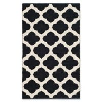 "Safavieh Montauk 2'6"" x 4' Zorah Rug in Black"