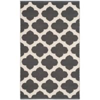 "Safavieh Montauk 2'6"" x 4' Zorah Rug in Dark Grey"