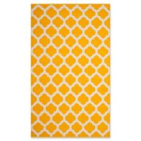 Safavieh Montauk 3' x 5' Zorah Rug in Yellow