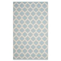 Safavieh Montauk 3' x 5' Zorah Rug in Light Blue